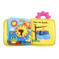 Infant Kids Early Development Cloth Book Learning Educational Baby Toys L&6