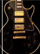 Gibson Les Paul Custom Guitar (Blank Sketch Book) (Luxury Sketch Books) by , NEW