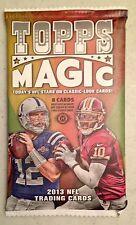 2013 Topps Magic Football HOBBY Pack Box Fresh 8 Cards/Pack