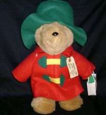 CHRISTMAS STUFFED ANIMAL PLUSH PADDINGTON TEDDY BEAR SEARS KIDS GIFTS W/ TAG 97