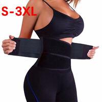 HOT Waist Trainer Women Men Sauna Sweat Thermo Yoga Sport Body Shaper Belt Slim
