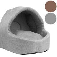 Soft Pet Igloo Bed Warm Snug House Cat Dog Puppy Kitten Cave Pod Washable