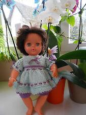 ensemble fait main pour  poupée de collection raynal tinnie 35cm