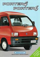 Depliant Brochure Innocenti Porter 4 e 6 1996 Italiano ORIGINALE