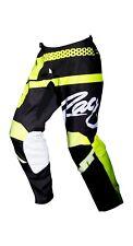 NEW MX Gear-JT RACING USA Flex Hi-Lo Pants, Black/Neon Yellow ADULT
