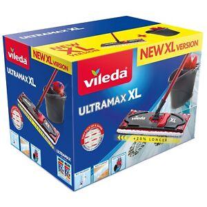 VILEDA Bodenwischer Mopp ULTRAMAX BOX XL 42CM Haus Büro Arbeit Aufräumung