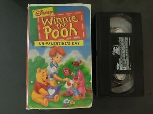 """""""WINNIE THE POOH UN-VALENTINE'S DAY """" ON VHS IN CLAMSHELL CASE *TCI#R"""