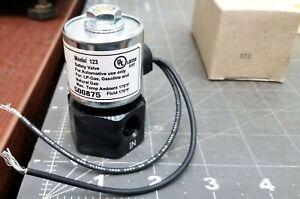 12V Solenoid Valve Lockoff Shut-Off Propane, Gas, LPG, Gasoline [B2S3]