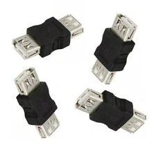 USB 2.0 F/F Hembra a Hembra Cable Adaptador Convertidor Conector Carpintero Acoplador