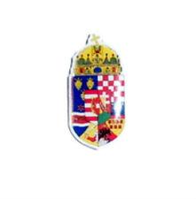 Royal Hungary Hungarian Vitez Empire Reunion Kingdom Crest Heraldry Seal War Pin