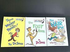 Dr. Seuss Beginner Book Bundle Set Of 3 Brand New Hardback Books -O