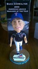 Buck Showalter MLB Texas Rangers Bobblehead 2004 Manager Of The Year NIB