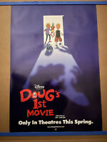 DOUG'S FIRST MOVIE 1999 ORIG. DS 27x40 ONE SHEET MOVIE POSTER! DISNEY ANIMATION!
