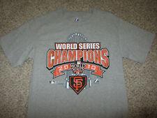 NEW San Francisco Giants T-Shirt Cotton Small World Series Champions 2010 S SM