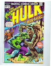 THE INCREDIBLE HULK #197 * The Collector & Man-Thing * Wrightson cover * 8.5 VF+