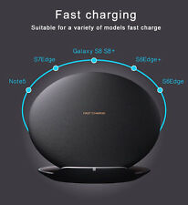 Fast Charging Pad QI Wireless Charger For Samsung S8 S7 Plus S6 edge Lumia 920