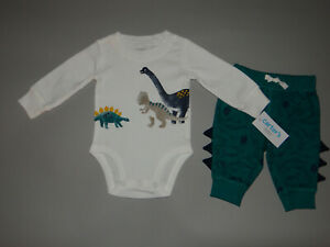 NWT, Baby boy clothes, 24 months, Carter's Dino set/     ~~SEE DETAILS ON SIZE~~