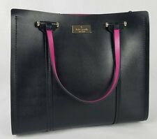 Kate Spade Small Elodie Arbour Hill Black & Pink Crossbody Handbag Purse $378