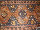 *REDUCED* Silk Somak, Hand-Embroidered 28''x45'', Kashmiri
