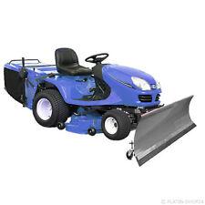 Universal Schneeschild mit Rädern 200x40cm Grau Einachser Rasentraktor Quad ATV