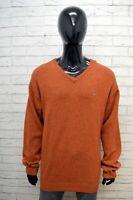 GANT Maglione Uomo Pullover Felpa Lana D' Agnello Sweater Taglia 3XL Cardigan