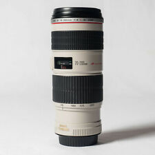 "Canon EF 70-200mm f/4L IS USM Lens F4.0 ""L"" Glass + Extras"