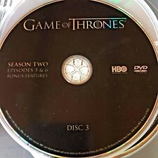 Game of Thrones Season 2 disc 3 Replacement Disc DVD ONLY