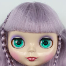 """Takara 12"""" Neo Blythe Purple Hair Nude Doll from Factory TBY36"""