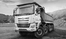 IXO 1:43 Tatra Phoenix Euro 6 8x8 - 2016 - light beige/silver