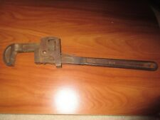 """Vintage Fleet Penens Pipe Wrench 4118 18""""  in Great Condition Chicago U.S.A. GUC"""