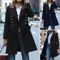 Mode Femme Manteau Loisir Poche Manche Longue Casual en vrac Ample Vestes Plus