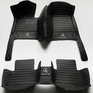 For Mercedes-Benz All Model Luxury Waterproof Custom Coupe Liner Car Floor Mats