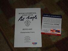 Kel Nagle Signed Royal Liverpool Scorecard PSA DNA