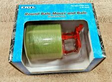 New ERTL 1:16 Scale Diecast Case International Round Bale Mover And Bale #14032