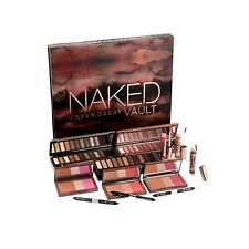 100% AUTHENTIC Urban Decay NAKED Vault Eyeshadow Flushed Palette Gloss 24/7 2 3