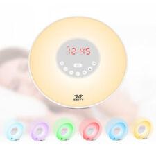 Réveils et radios-réveils blanche sans marque pour la chambre