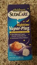 Children's SudaCare Nighttime Vapor-Plug refill pads NEW Cold Decongestant Kids