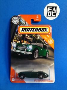 2020 MATCHBOX '63 AUSTIN HEALEY ROADSTER BRITISH RACING GREEN MBX CITY