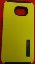 Incipio Case For Samsung Galaxy S6 Edge DualPro Dual Layer Yellow w/Black Trim