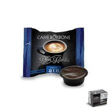 Don Carlo Miscela Blu 100 Pezzi - Compatibili Lavazza A Modo Mio - Caffè Borbone