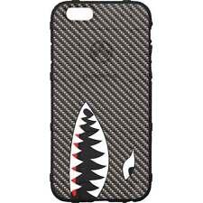 Magpul Field Case for iPhone SE,4,5,5s. Custom Black Carbon Fiber, Shark Teeth
