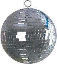 Spiegelkugel 30cm Durchmesser Disco Disko Party Spiegel Kugel mit Safetyöse NEU