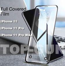 PELLICOLA VETRO TEMPERATO per Iphone 11 / Pro / Max COPERTURA TOTALE CURVO 5D 9H