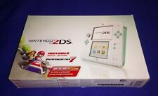 LOW PRICE RARE NEW Nintendo 2DS Sea Green With Mario Kart 7 Handheld System 3DS