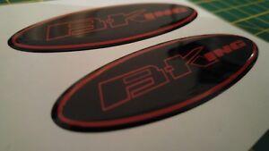 ****Suzuki B-King high gloss gel domed decals/stickers x2***