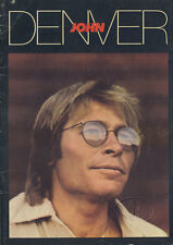 JOHN DENVER 1980 Autograph Tour Concert Program Tour Book