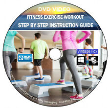 Ministry of Sound Fitness Exercise Workout Cardio Weight Fat Loss Burn DVD Video