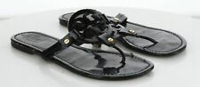 R1 MSRP $198 Women's Size 8 M Tory Burch Miller Patent Leather Thong Sandals