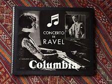 MARGUERITE LONG RAVEL PIANO CONCERTO 3x 78 RPM COLUMBIA LFX 257 258 259 ALBUM !