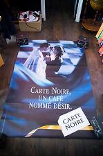 CARTE NOIR COFFEE A 4x6 ft Bus Shelter Original Vintage Food Advertising Poster